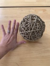 Seagrass Rope Ball 1